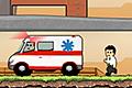 [避難経路を確保し人々を救助隊の待つところまで誘導させるパズルゲーム]Rescuenator