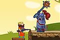 [エクスカリバーを捨て銃で戦う王様のアクションゲーム]Steam King