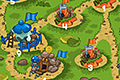 [アリ軍隊たちを移動させて陣地を拡大する攻防シミュレーションゲーム]Ants Warriors