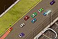 [コースを周回する上視点のレーシングゲーム]Thunder Cars