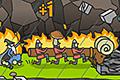 [ヤギの頭がついた丸太を武器につき進むアクションゲーム]Ram Time!