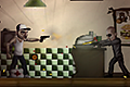 [スローモーション能力と銃を使ってギャングどもをやっつけるシューティングアクションゲーム]My Friend Pedro