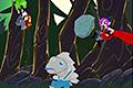 [怪物にさらわれてしまった彼女を助け出すランニングアクションゲーム]Netherrunner