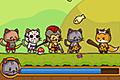 [敵から装備品を奪い取って進むネコ勇者たちのランニングアクションゲーム]StrikeForce Kitty