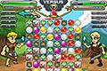 [3マッチ入れ替えパズルで敵をやっつけるバトルパズルゲーム]Manamancers