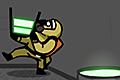 [天井から漏れてくる強酸性の液体を受け止めるゲームウォッチ風ミニアクションゲーム]Acid Panic