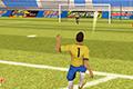[ボールの軌道、パワーを調整して指定の場所へボールを入れるサッカーのフリーキックゲーム]World Soccer Forever