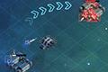 [戦闘機を移動させ宇宙ステーションを制圧する攻防シミュレーションゲーム]Spiral Drive