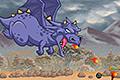 [ファイヤードラゴンを操作して敵をやっつけ進むパワーアップ型アクションゲーム]Fire & Might