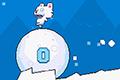 [雪球に乗ったシロクマくんの高難易度ミニアクションゲーム]Roller Polar